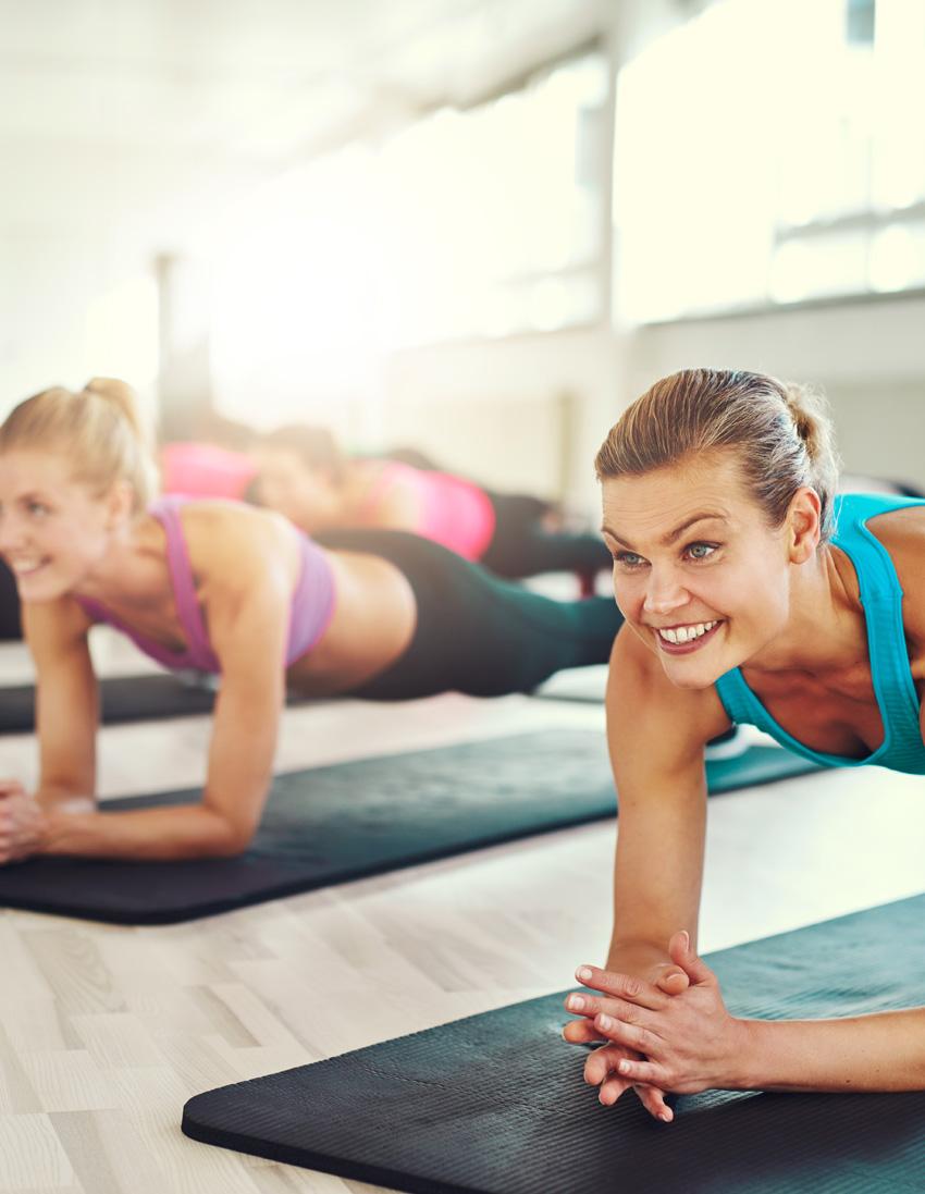 Groepslessen Vabenefitness Yoga